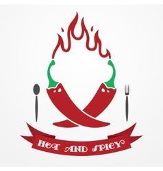 Pepper logo vector image vector image