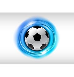 football abstract circle vector image vector image