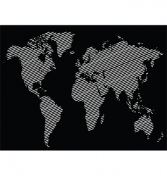 stripe world vector image