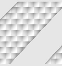 abstract background with black white squares vector image