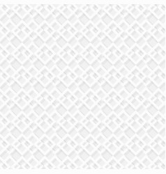 abstract of modern square of white color pattern vector image