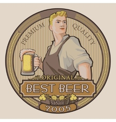 Best beer vector