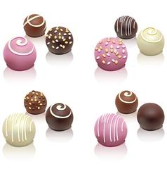candies vector image