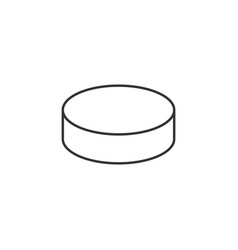 coin related line icon vector image
