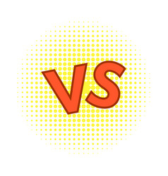 concept of confrontation together standoff vector image