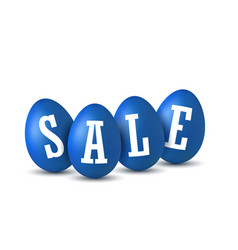Easter egg text sale happy easter eggs 3d vector
