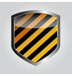 Protect shield vector image