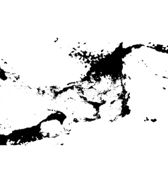 Black and White Grunge Texture Distress Texture vector image