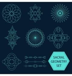Sacral Geometry Set vector image
