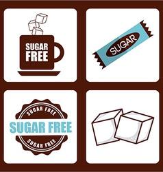 sugar product vector image