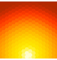 Abstract sunset background made of geometric vector image