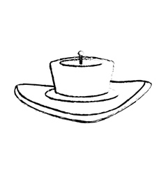 candle house decoration icon image vector image