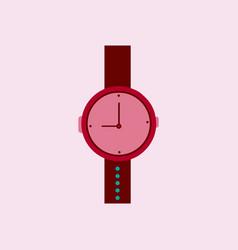 hand watch icon wristwatch - clock symbol clock vector image