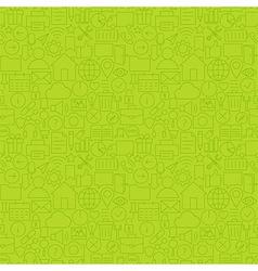 Line Website Mobile User Interface Seamless Green vector