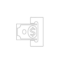 replenishment flat icon vector image