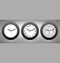 Set of clocks vector