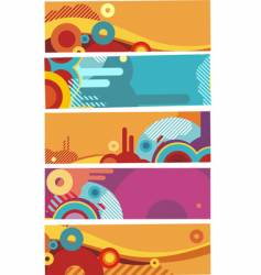 modern banner vector image vector image