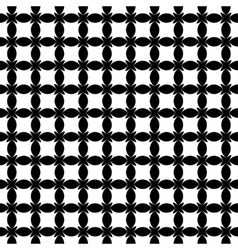 Stars and ovals geometric seamless pattern 903 vector image vector image