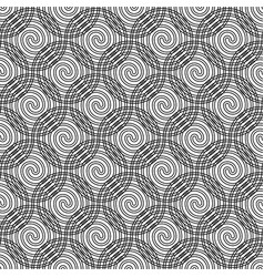 design seamless spiral pattern vector image