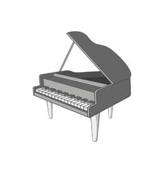 Piano icon cartoon style vector image vector image
