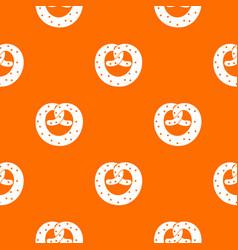 Pretzels pattern seamless vector