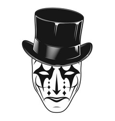 Theatrical mask 15 vector
