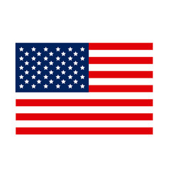 United states flag icon vector