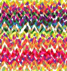 Really cool ikat animal seamless texture vector