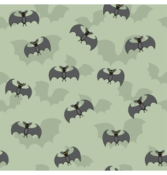 Cartoon Bats Seamless vector image