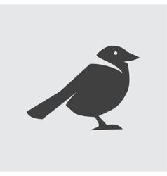 Crow icon vector