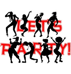 Party banner vector