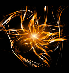 Abstract background light lines futuristic wave vector