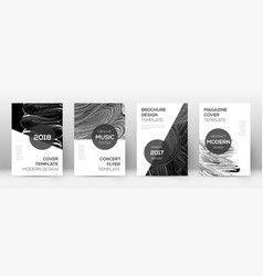 Cover page design template modern brochure vector