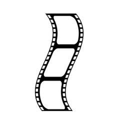 Video tape segment icon image vector