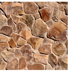 Wild stone wall texture vector