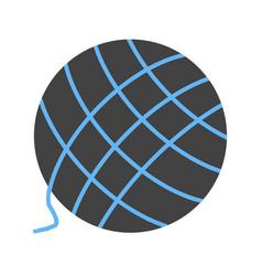 Wool ball vector