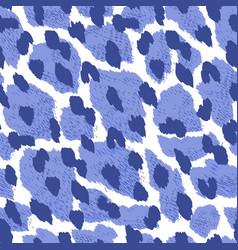 animal seamless pattern vector image vector image