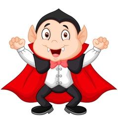Cartoon vampire vector image vector image