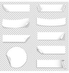 paper label vector image vector image