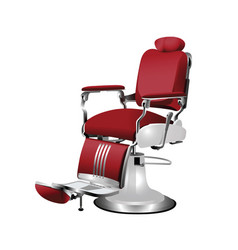 barber chair vector image