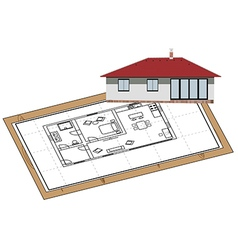 House proposal vector image vector image