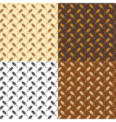 wheat patterns vector image