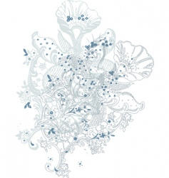 flowers vi vector image
