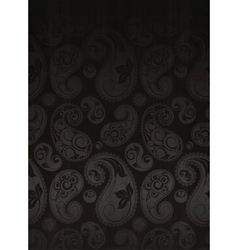 Paisley Flower Pattern Seamless vector image vector image