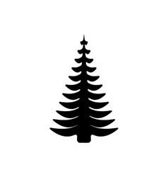 Black tree vector