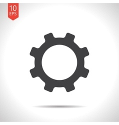 cogwheel icon Eps10 vector image