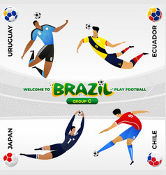 football player in the background of a pattern vector image