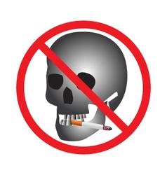 No smoking Sign Icon vector image
