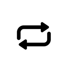 refresh reload repeat icon signs and symbols can vector image