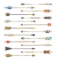 Set arrow types for archer vector